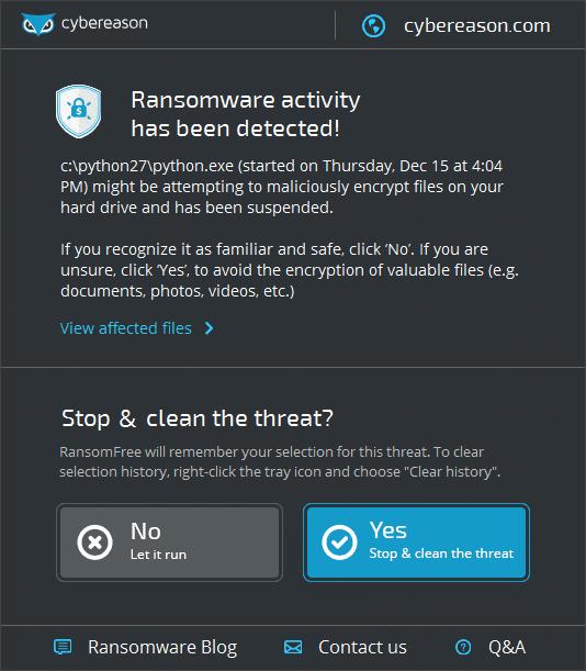 Por fin una solución sencilla contra Wannacry y otros programas de rescate!
