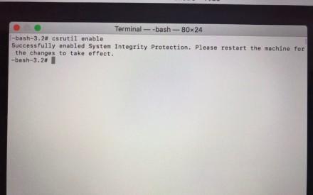Desactivar el SIP macOS macOS Mojave (10.14) rápidamente