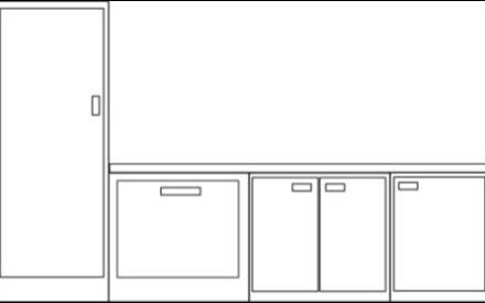 Inkscape para diseñar los electrodomésticos de la cocina