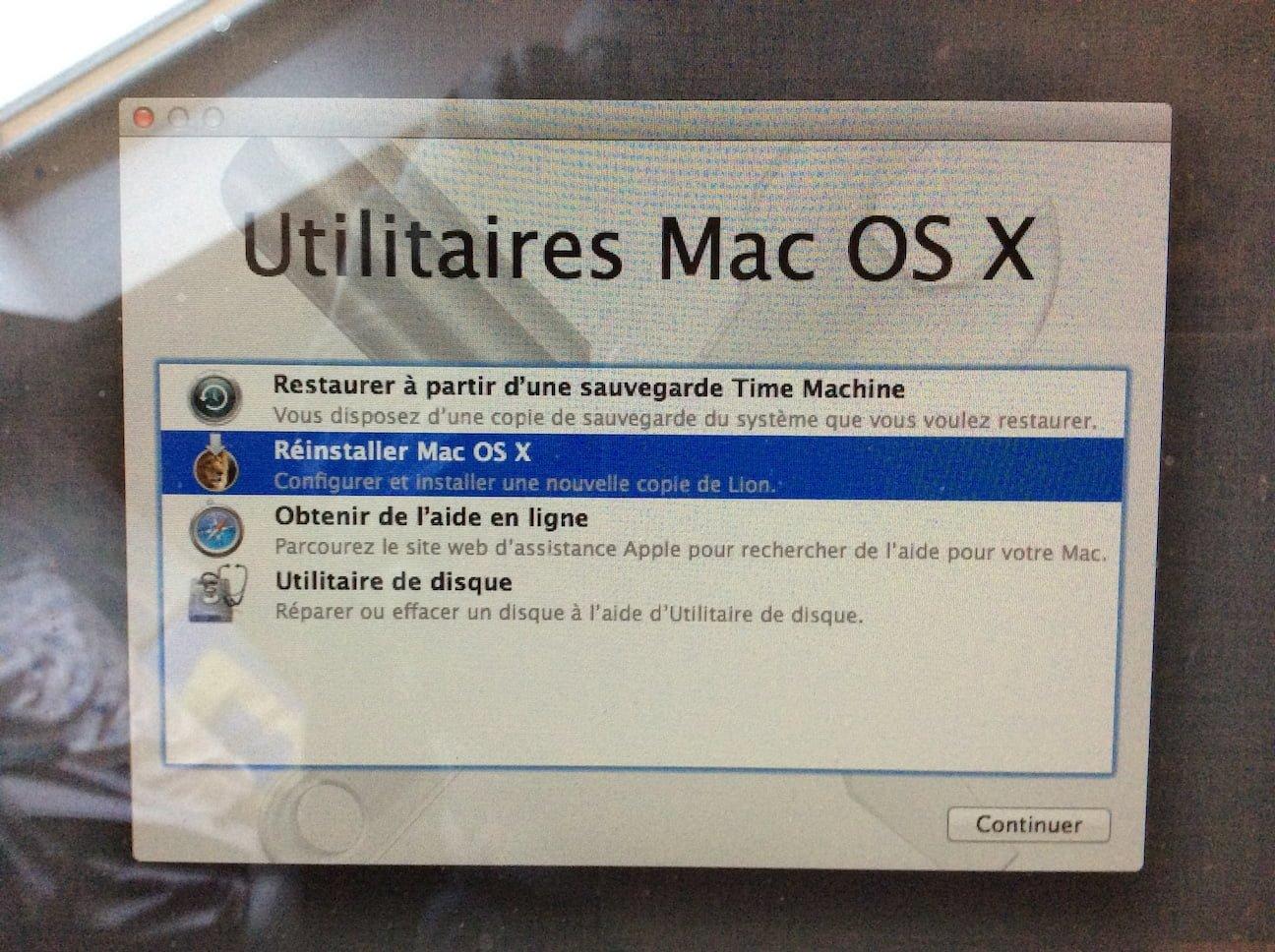 Reinstala tu Mac como estaba originalmente (OS X de fábrica)