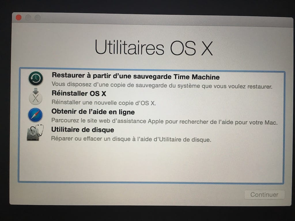 Reinstalar macOS High Sierra (10.13)