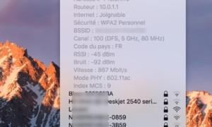 Redes WiFi preferidas en Mac: elija las mejores