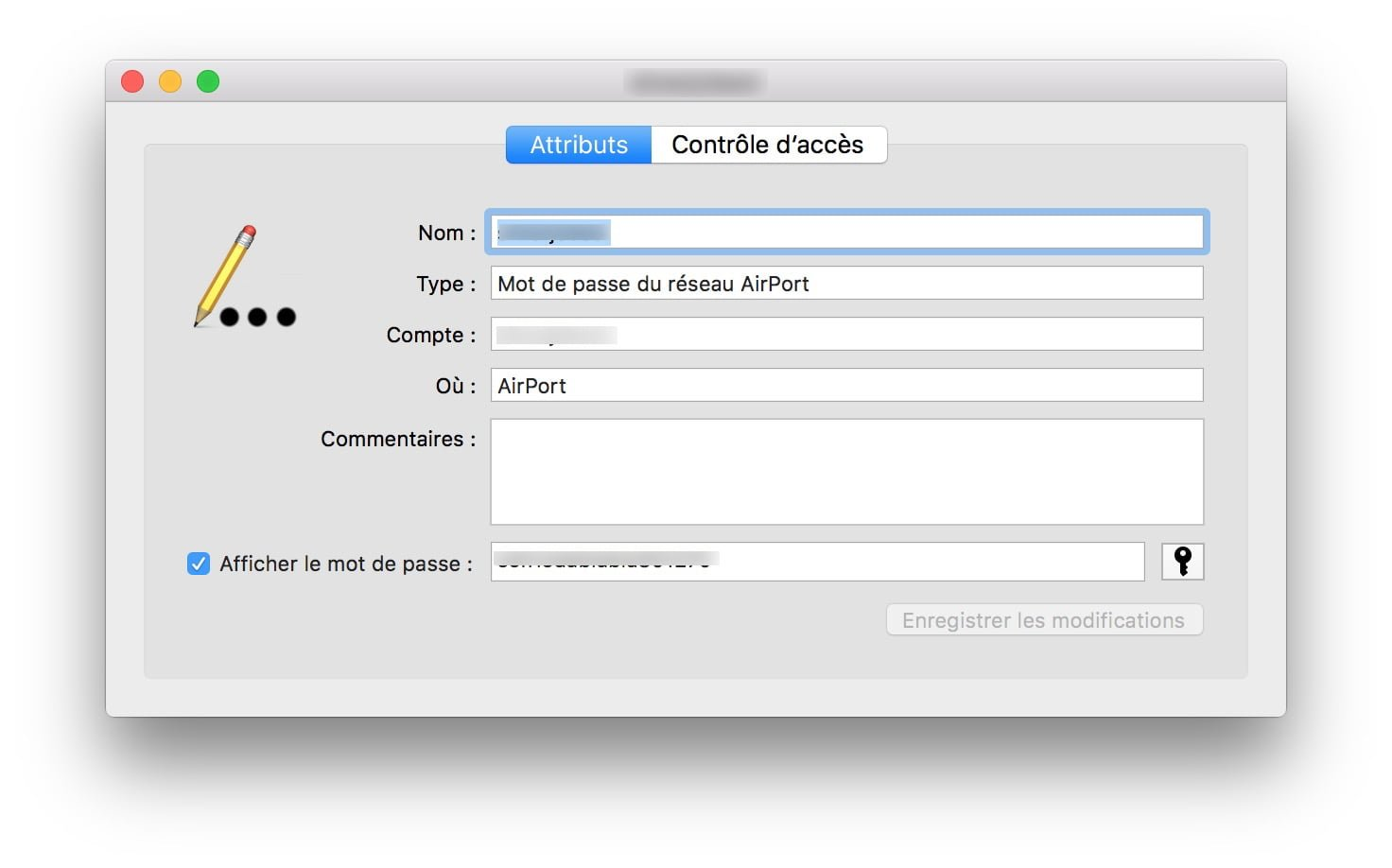 Recupera tu contraseña WiFi en Mac / MacBook