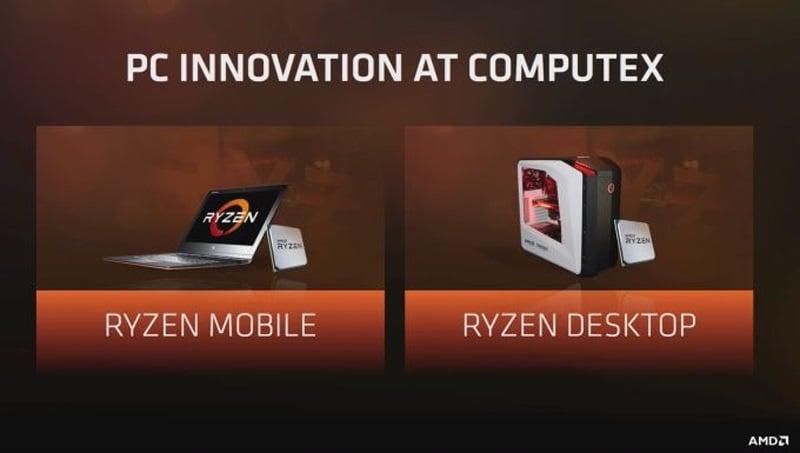 AMD: ¡Llegan las CPUs Ryzen para portátiles un 50% más potentes!