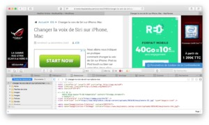 Mostrar el menú de desarrollo de Safari (OS X/ macOS)