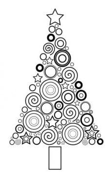 Cómo dibujar un árbol de Navidad moderno con Inkscape