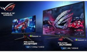 Asus anuncia tres nuevos monitores de juegos HDR