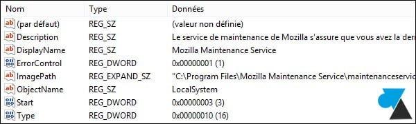 Modificar un servicio de Windows