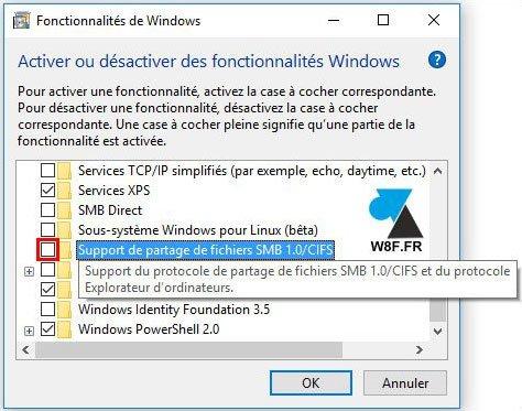 Desactivar el protocolo SMB de Windows