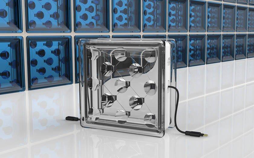 Paneles solares: este ladrillo transparente produce electricidad