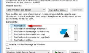 Cambio de los sonidos de Windows 8