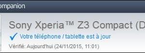 Actualización de smartphones o tabletas Sony Xperia