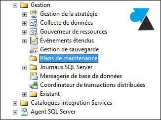 Habilitar planes de mantenimiento de SQL Server (error de agente XP)