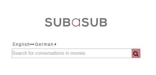 Subasub, un buscador de diálogos de películas