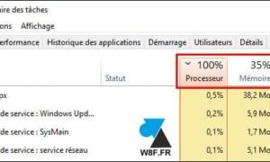Ver el rendimiento de un equipo con Windows 10 con el Administrador de tareas