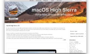 Descarga macOS High Sierra (10.13) desde el App Store
