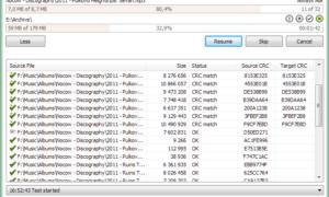 Copie y transfiera archivos grandes rápidamente