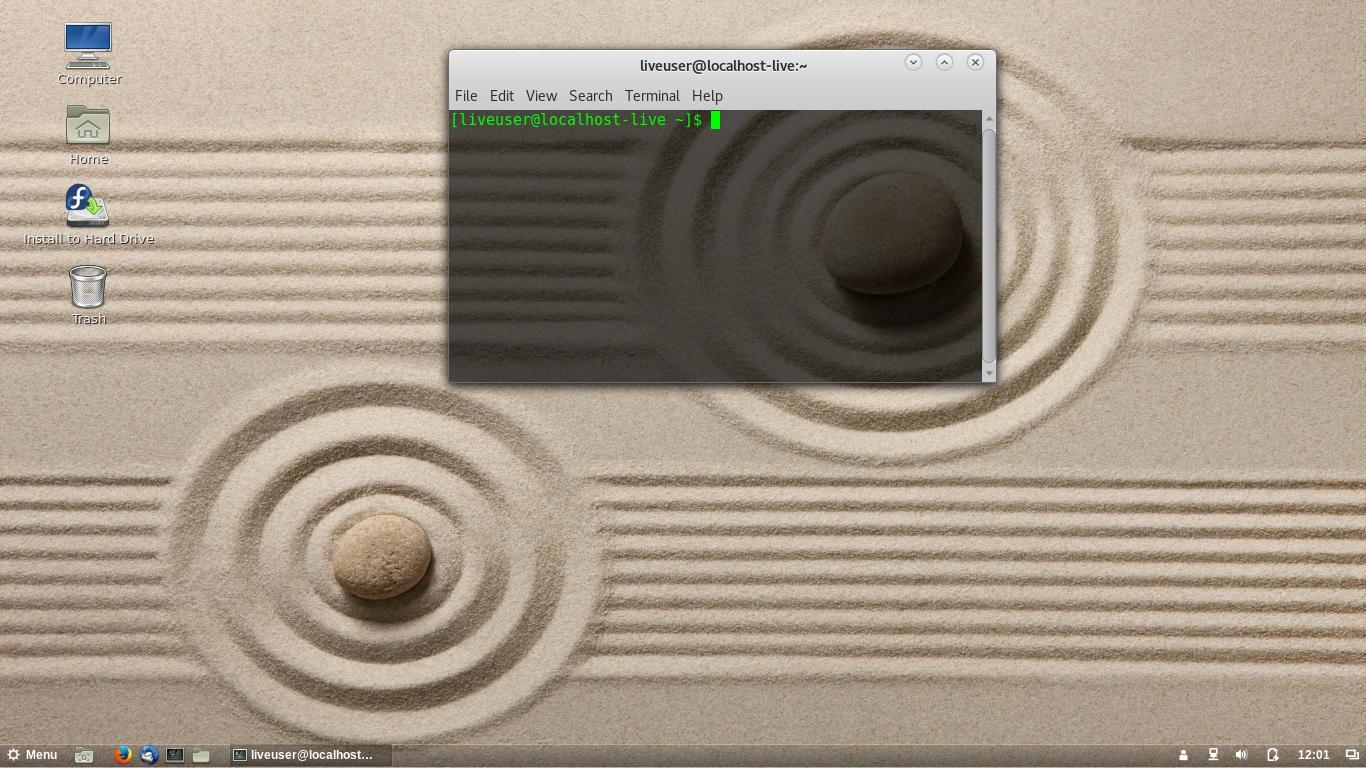 Prueba Fedora 25 con el escritorio Cinnamon