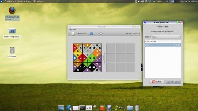 Juega Tetravex en Linux