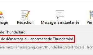 Thunderbird: ya no muestra la pantalla de bienvenida