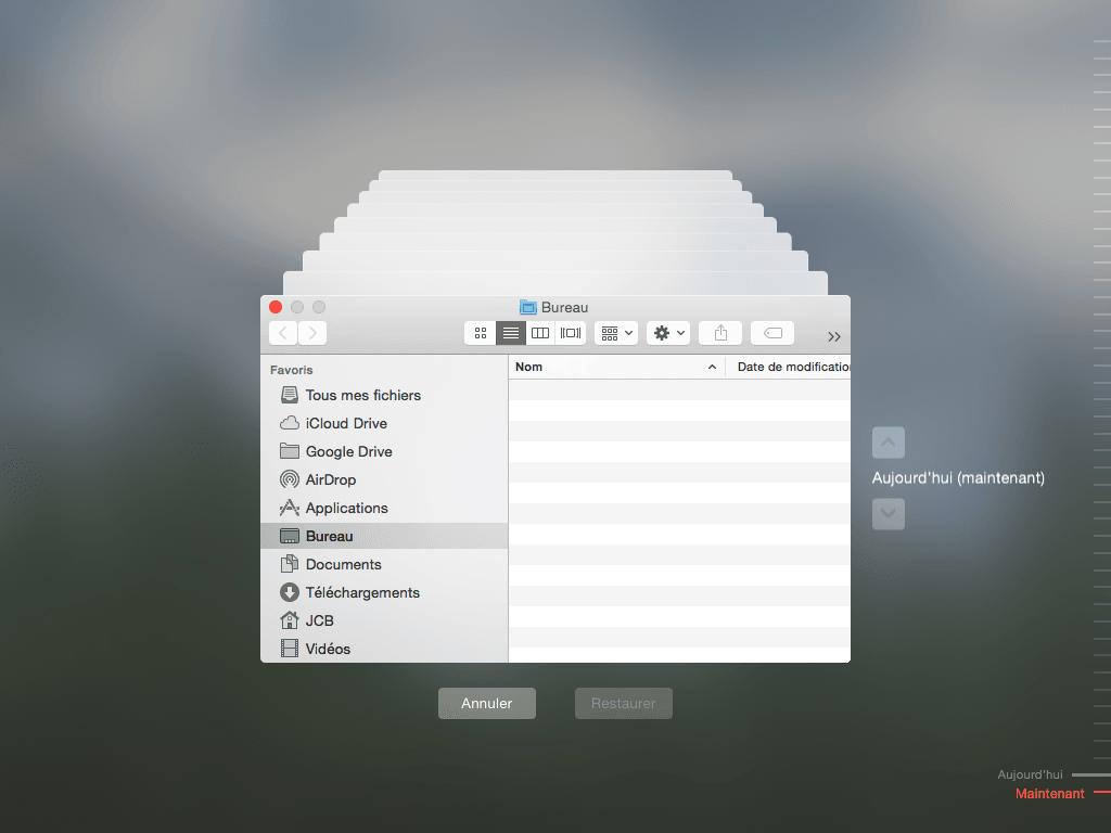 Time Machine Yosemite: instrucciones de uso (Mac OS X 10.10)