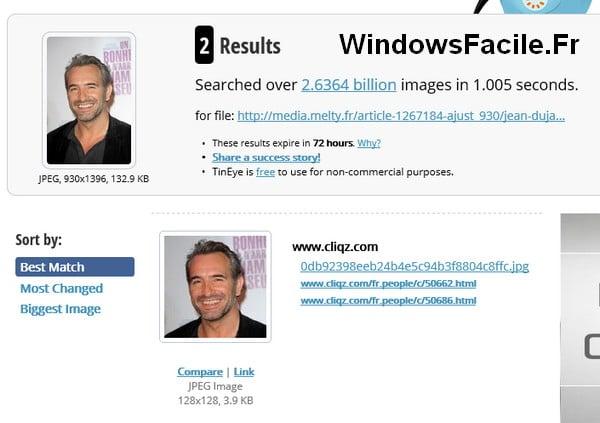 Realizar una búsqueda en Internet utilizando una imagen