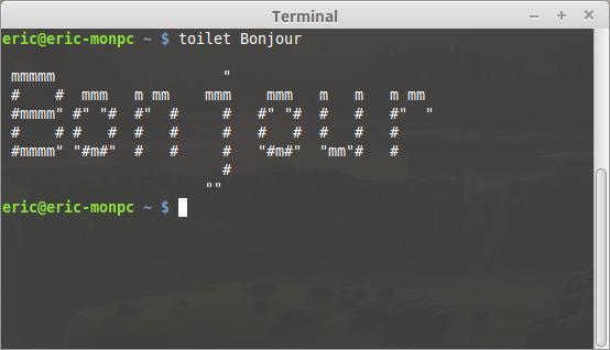 El divertido terminal Linux