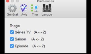 TV Series Mac: gestiona todos tus episodios de TV (Mac OS X 10.10)