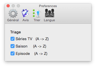 TV Series Mac: gestiona todos tus episodios de TV (Mac OS X 10.10)