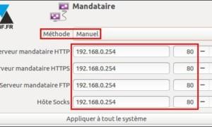 Ubuntu: configurar un proxy de Internet