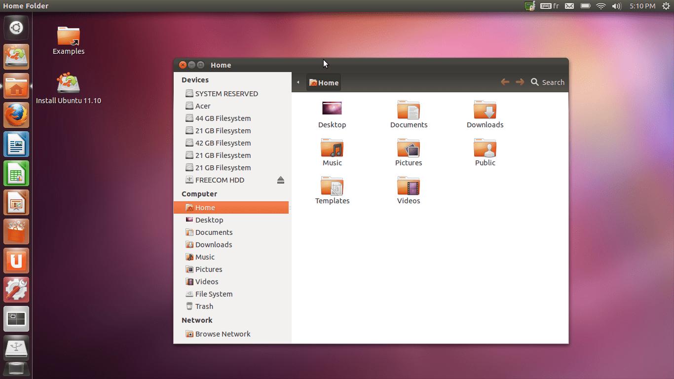 Ubuntu 11.10 en imágenes