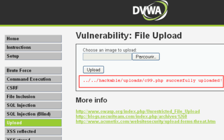 DVWA: Ponga a prueba sus habilidades de piratería informática
