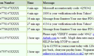 Evite la verificación por SMS en cualquier sitio