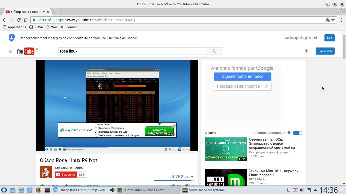 Rosa desktop R9 desktop KDE desktop - 4 años de soporte técnico 7