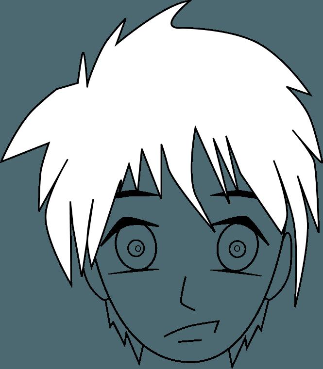 Cómo dibujar una cara de manga