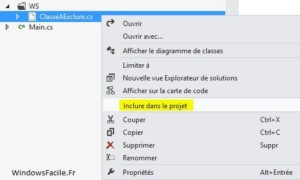 Visual Studio: excluir y re-incluir archivos