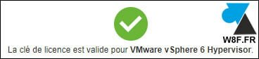 VMware ESXi / vSphere 6.7: modificar la licencia