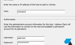 VMware ESXi: Agregar un servidor al clúster