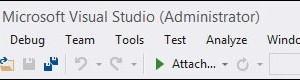 Visual Studio 2013: mostrar menús en minúsculas