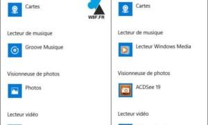 Windows 10: modificar las aplicaciones por defecto