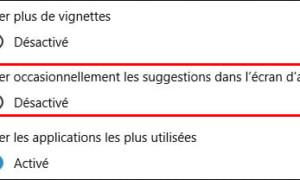 Windows 10: Desactivar la publicidad en el menú Inicio