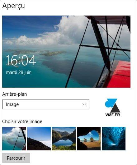 Windows 10: cambiar la imagen en la pantalla de bloqueo