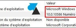 Windows 10: Versión del sistema