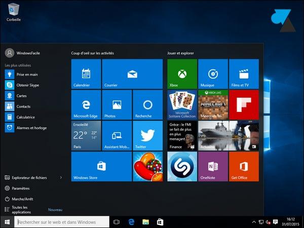 Actualización de Windows 8 a Windows 10