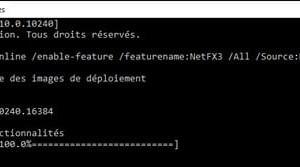 Windows 10: install.NET Framework 3.5 (SP1)
