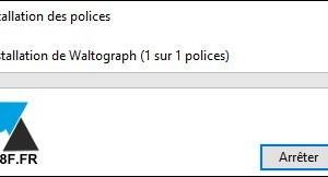 Windows 10: instalar una nueva fuente
