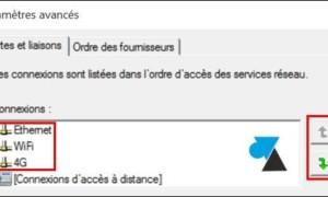 Windows 10: Configurar la prioridad de la tarjeta de red