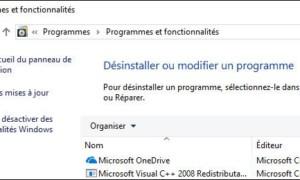 Windows 10: desinstale un programa como antes