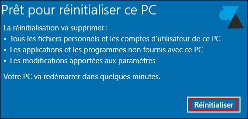Restaurar o reinstalar un PC con Windows 10