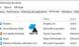 Windows 10: ver y deshabilitar programas al inicio